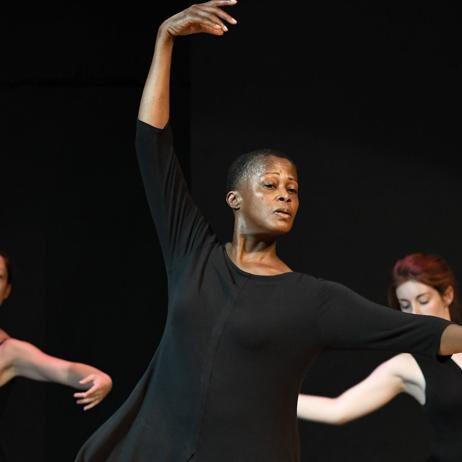 Dance Theatre of Harlem Legendary Ballerina Karen Brown teaches Ballet Repertory (photo: Kevin Rivoli)