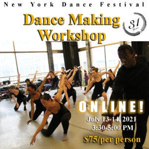 Dance Making - Composition Workshop - Promo 1
