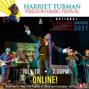 Harriet Tubman Freedom Music Festival - 2021 - square